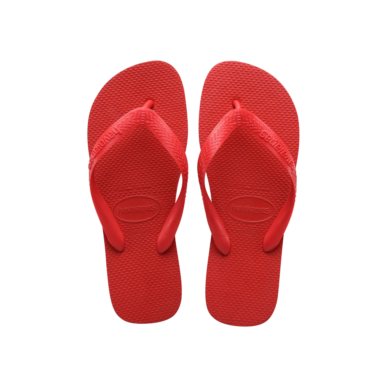 Havaianas Top Flip Flops Ruby Red Mens Sandals