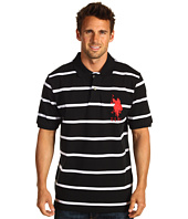 U.S. Polo Assn - 2 Color Narrow Stripe Polo