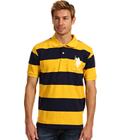 U.S. Polo Assn - 2 Color Wide Stripe Polo