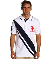 U.S. Polo Assn - Solid Polo w/ YD Under Collar