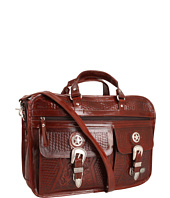 American West - Oakleaf 6-Compartment Briefcase