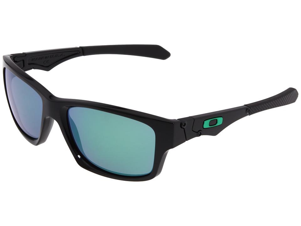 Oakley Jupiter Squared (Polished Black/Jade Iridium Lens)...