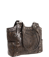 American West - Over The Rainbow Zip Top Fashion Tote