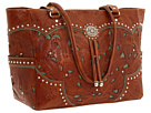 American West Carry-on Tote (Brown/Turquoise)