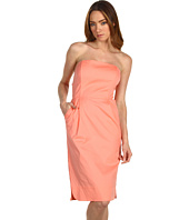 Tibi - Ultra Poplin Strapless Dress