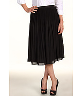 DKNYC - Pleated Mid Length Skirt