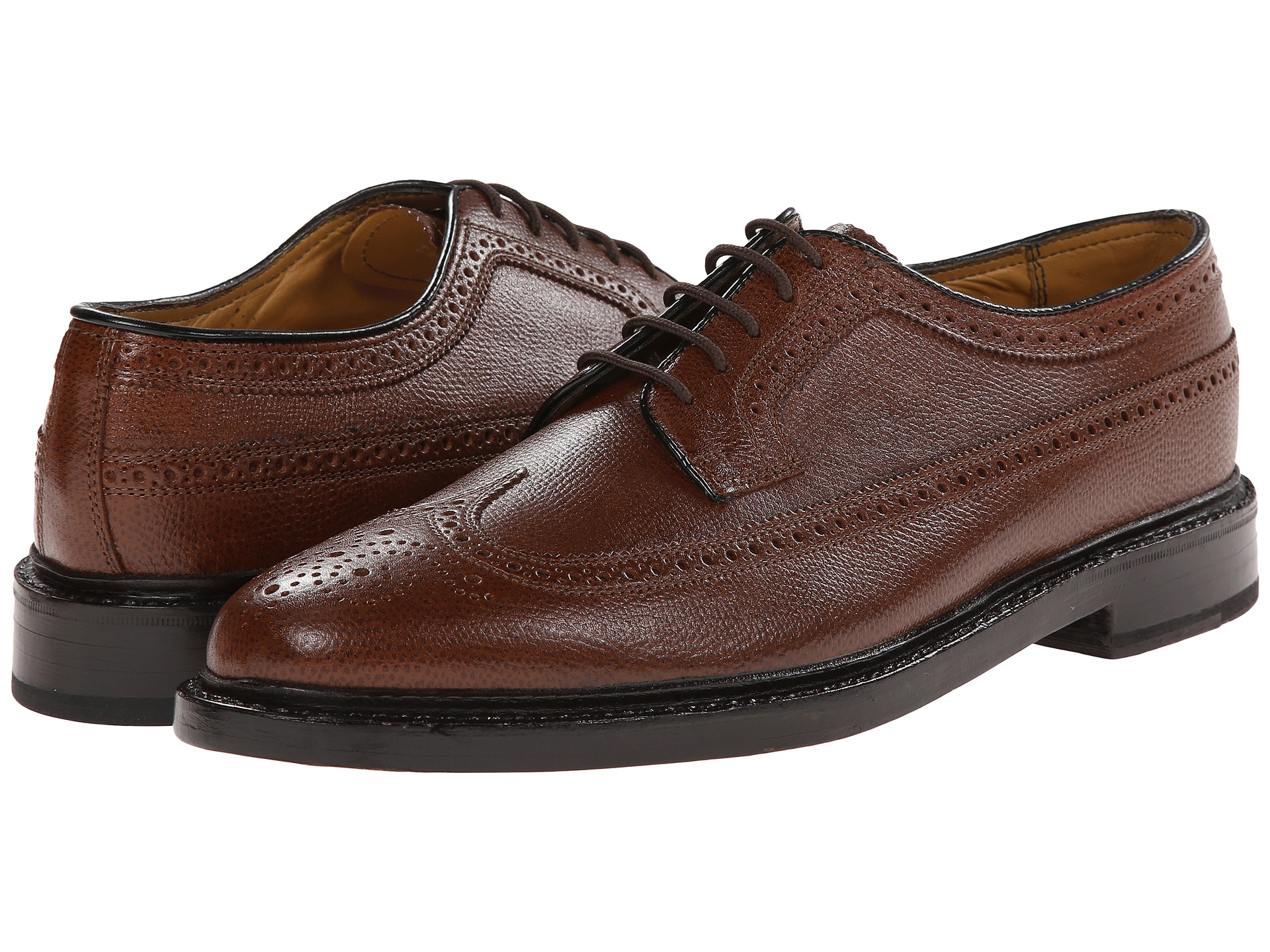 In , Milton Florsheim began producing shoes in a small factory located in Chicago, Illinois. The first pairs of Florsheim shoes were made by Milton and his father, Sigmund.