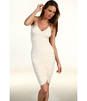 Halston Heritage - Ruched Front Dress with 1