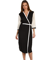 Rachel Roy - Pleated Crepe Wrap Dress