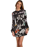 Rachel Roy - Graphic Floral Volume Sleeve Dress
