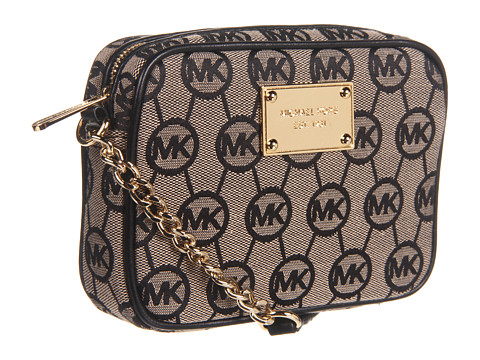 Online Bag Store : MICHAEL Michael Kors Jet Set Monogram Crossbody