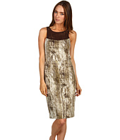 Rachel Roy - Snake Printed Cotton Crochet Dress