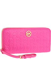 MICHAEL Michael Kors - Monogram Embossed Zip-Around Continental