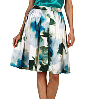 Rachel Roy - Floral Print Pleated Skirt