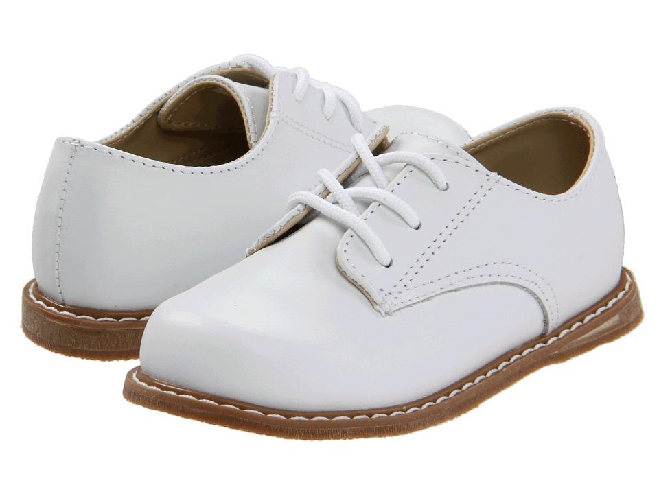 Baby Deer Drew Infant/Toddler White Boys Shoes