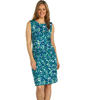 Anne Klein Plus - Plus Size Petal Abstract Knit Dress