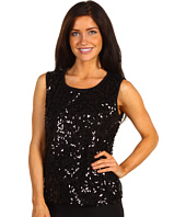Jones New York - Petite S/L Sequin Mesh Shell