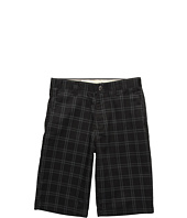 Volcom Kids - Frickin Plaid Chino Short (Big Kids)
