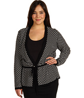 Jones New York - Plus Size Tie Front Cardigan