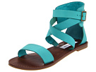 Steve Madden - Bethanyy (Turquoise Leather) - Footwear