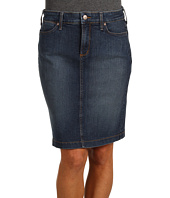 NYDJ Petite - Petite Size Emma Denim Pencil Skirt in Koberg Wash