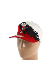 Mitchell & Ness - NCAA® Cream Paintbrush Snapback - University of Nevada Las Vegas
