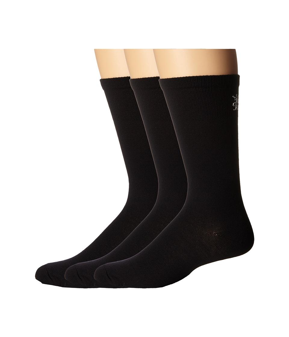 Smartwool - Hiking Liner 3-Pair Pack (Black) Crew Cut Socks Shoes