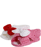 Jefferies Socks - Peep Toe Bow Bootie (Infant)