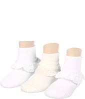Jefferies Socks - Chantilly Lace Sock 3 Pk (Infant/Toddler/Youth)