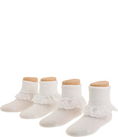 Jefferies Socks - Sisters 4 Pk (Infant/Toddler/Youth)