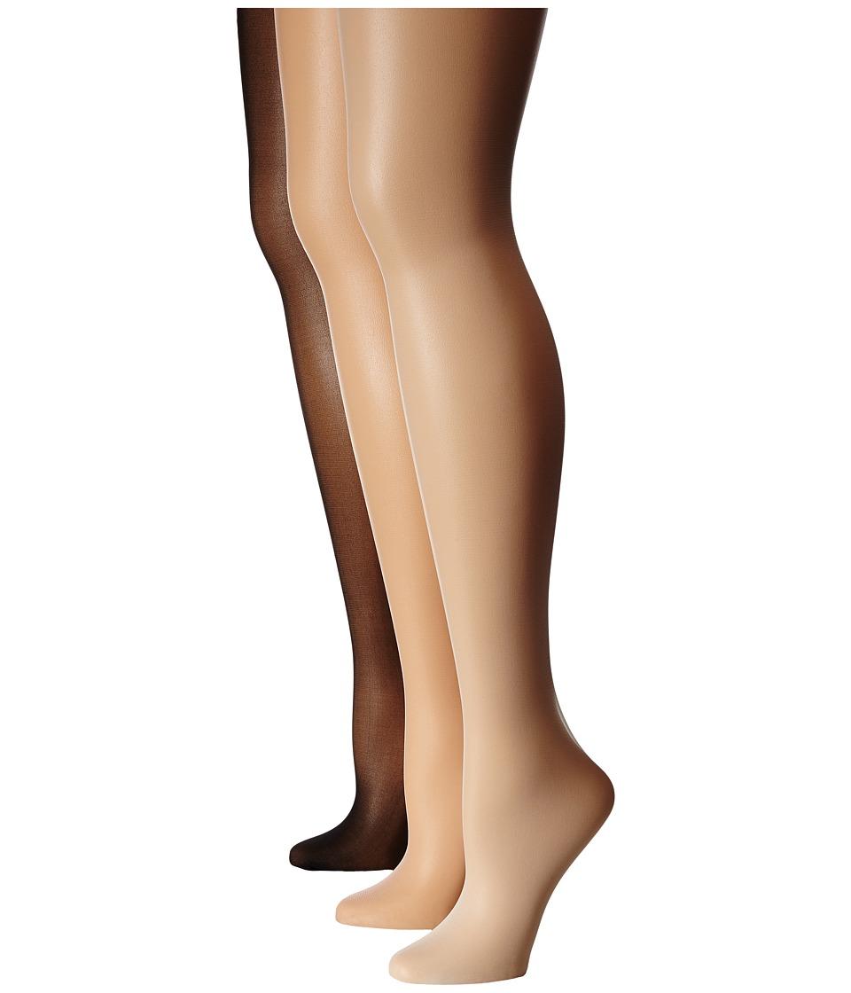 Jefferies Socks - Jr. Miss Pantyhose 3-Pack