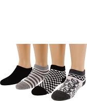 Jefferies Socks - Rough & Tough Low Cut Triple Treat & Seamless Capri Linter Six Pack (Infant/Toddler/Little Kid/Big Kid)