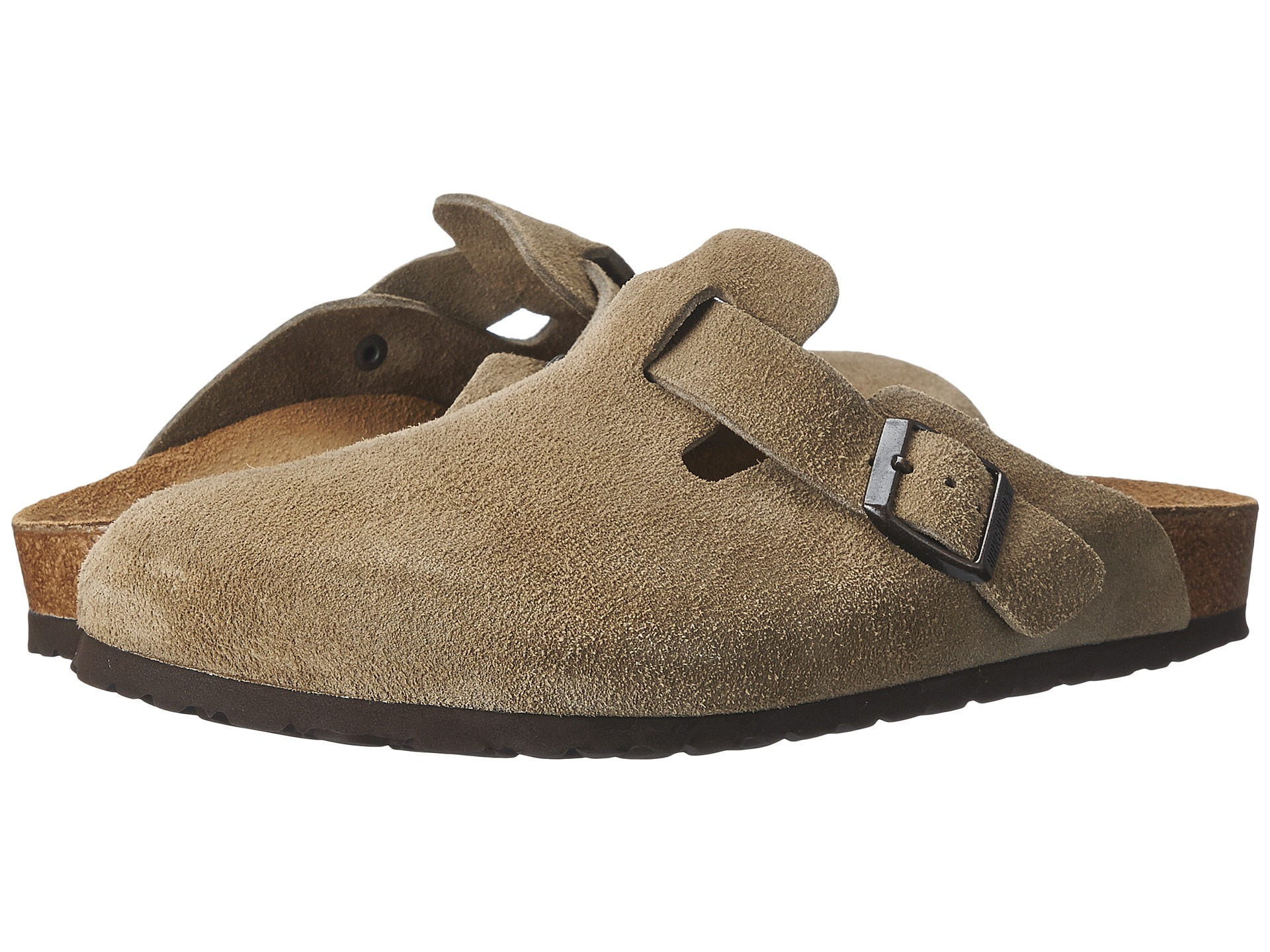 Birkenstock Boston Suede Unisex At Zappos Com