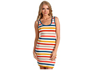 French Connection - Summer Stripe Tank Dress (Daisy White/Multi) - Apparel
