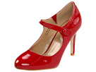 Fitzwell - Lorelei Maryjane Pump (Red Patent) - Footwear