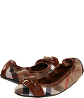 Burberry - House Check Canvas Ballerina