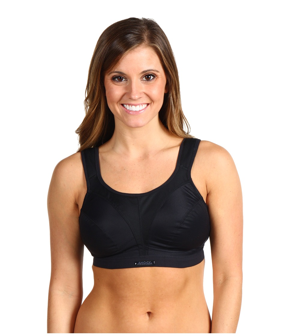 Shock Absorber D Max Support Sports Bra N109 Black Womens Bra