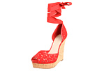 Nine West - LoveStory (Red Multi Fabric) - Footwear