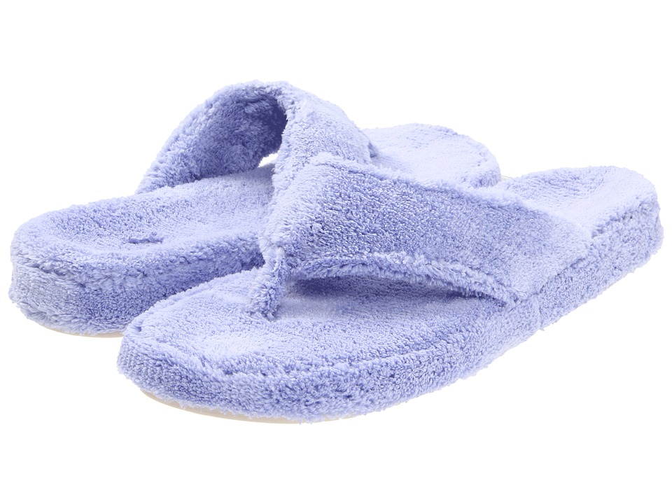 Acorn New Spa Thong (Periwinkle) Women's Slippers
