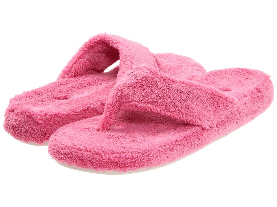 Acorn Pink Spa Thong Flip Flop