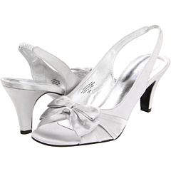 buy Bouquets - Clara (Silver Satin) - Footwear  Online Shoe Shop