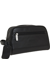 Kenneth Cole Reaction - Manhattan Leather Top Zip Travel Kit