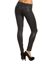 Hudson - Nico Mid Rise Super Skinny in Black Cobra