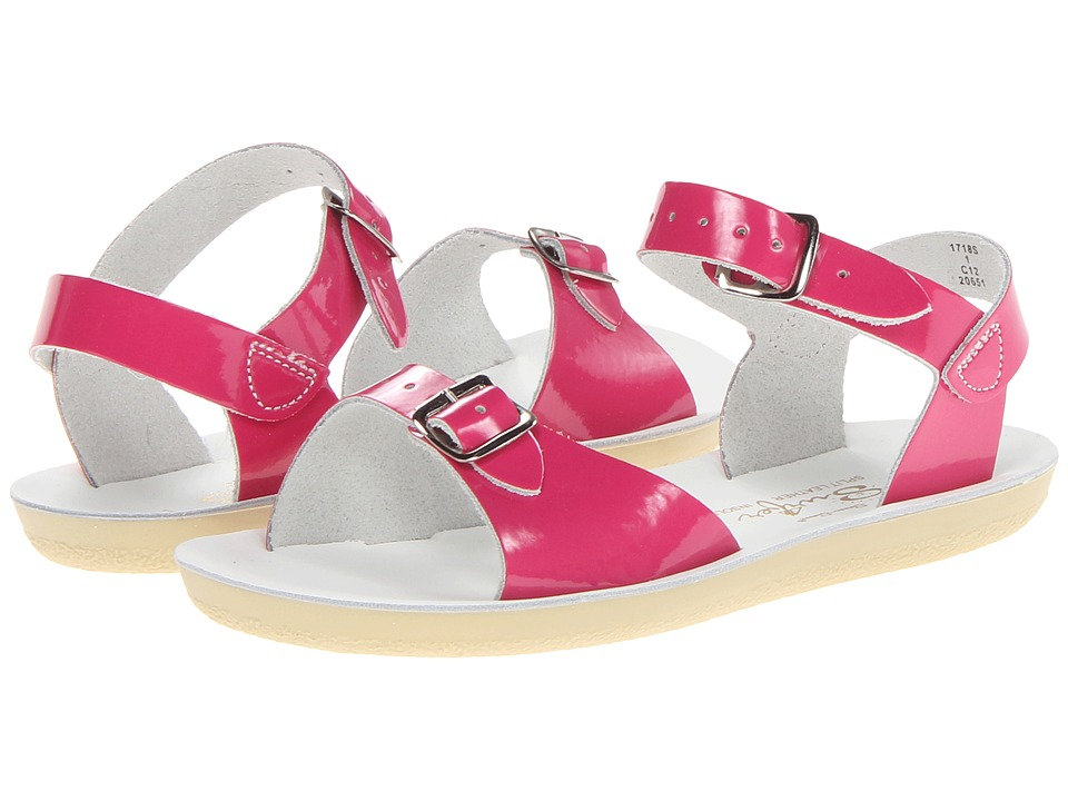 Salt Water Sandal by Hoy Shoes Sun-San Surfer (Toddler/Little Kid) (Shiny Fuchsia) Girls Shoes