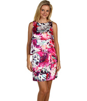 Tahari by ASL - Vanna Silk Tiered Floral Print Dress