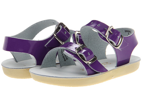 Salt Water Sandal by Hoy Shoes Sun-San - Sea Wees (Infant/Toddler) - Shiny Purple