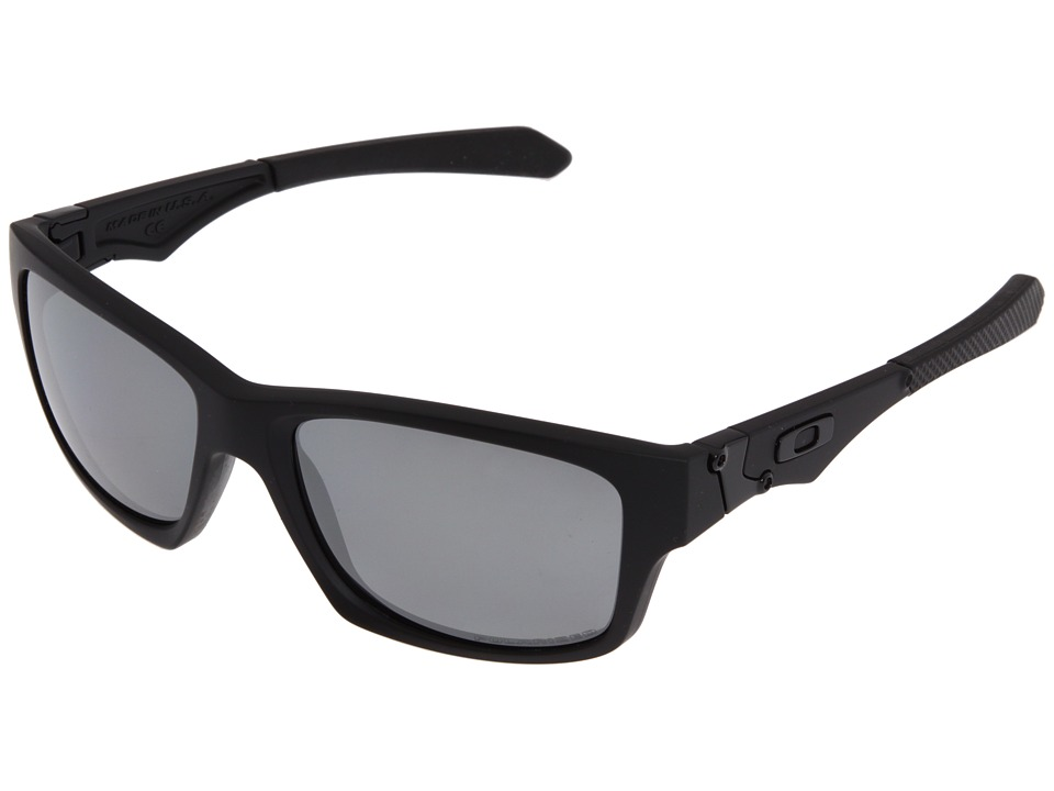 Oakley - Jupiter Squared Polarized (Matte Black/Black Polar) Athletic Performance Sport Sunglasses