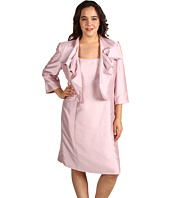 Tahari by ASL Plus - Plus Size Jessica Shantung Jacket Dress