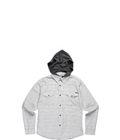 Billabong Kids - Monterey L/S Woven w/ Hood (Big Kids)