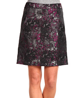 Anne Klein Petite - Petite Multi Jacquard Skirt w/ Pleats